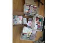 Greeting cards for many occasions - job lot