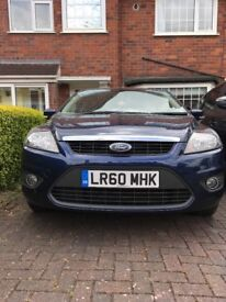 Ford Focus (2010) 1.6 Zetec in blue for sale, great car and economical