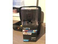 **GoPro hero 4 session** 4K memory card.. lots of mounts!