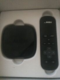 Now tv box and control