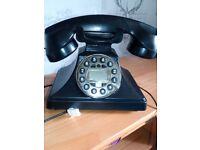 Retro reproduction vintage telephone