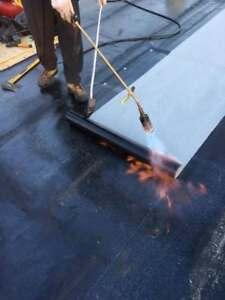 Couverture Plate - toit plat membrane élastomère