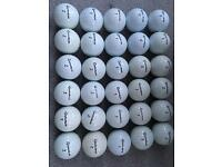 30 TaylorMade TP/BLACK LDP Golf Balls