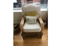 Recovered cane Chairs & matching tables 2 of each