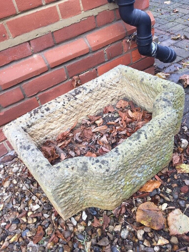 Stone Planter for alpines or herbs