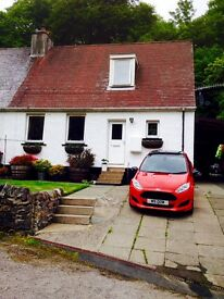 3 bedroom semi detached house in the village of Crinan, Argyll