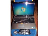 Dell Laptop, 2.1ghz Dual core, Windows 7, 320gb Hdd, Wifi, Dvd-rw, 4Gb Memory
