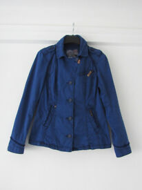 NEW Khujo TM Cotton Navy Blue Jacket Size L
