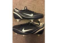 Dark Blue Nike[size4]Football Boots