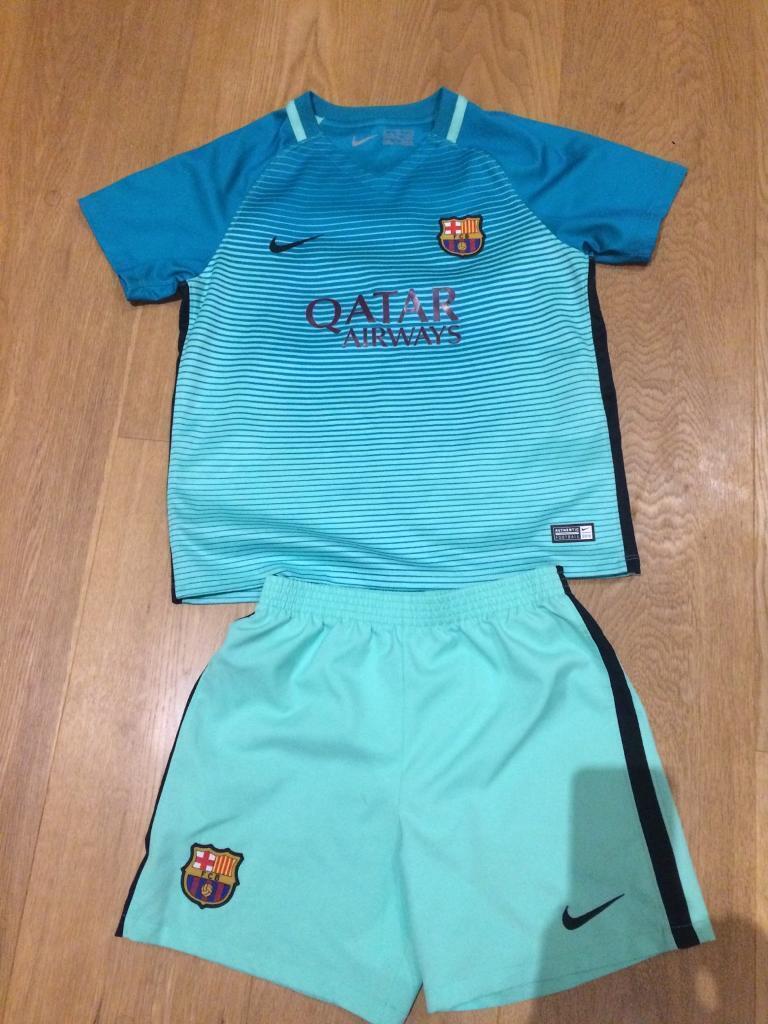 the best attitude 2f9d8 30ce4 Boys Barcelona away kit 2016 | in Radyr, Cardiff | Gumtree
