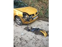 Renault Clio hatchback petrol, perfect engine, ideal for spares and repairs