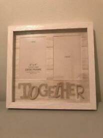 Next wooden photo frame