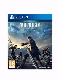 Playstation 4 Final Fantasy XV (NEW, Unused, Unopened).