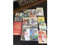 Wii Console and selection of games