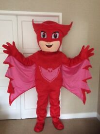 PJ MASK RED OWLETTE FULL MASCOT COSTUME ADULT SIZE £139.99 plus £13 postage
