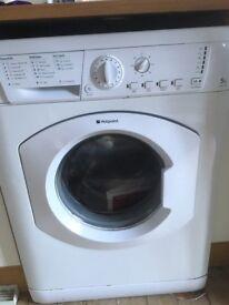 5kg Hotpoint washing machine HV5L125