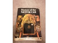 Full set of vintage History of the Motor Car magazines.