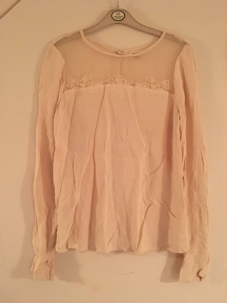 River island blouse size 8/10