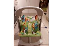 Fisher price rainforest baby musical swing