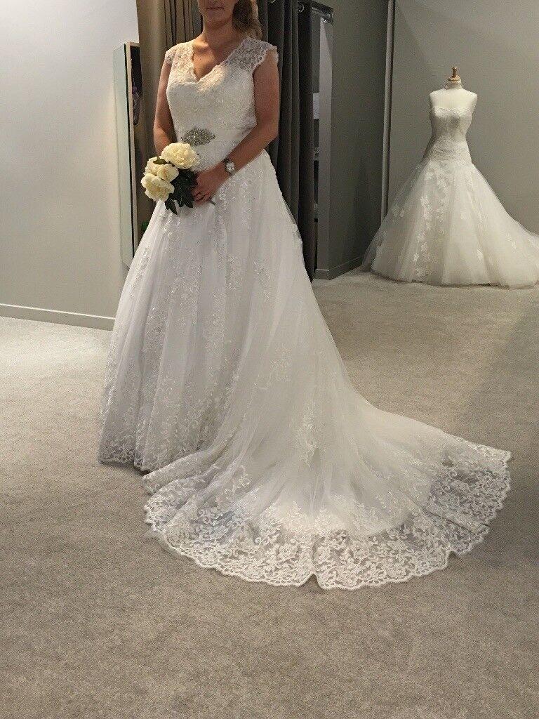 Wedding Dress - Anna Sorrano \'Carmen\' Size 14 | in Cheltenham ...