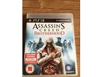 Assassins creed Brotherhood PlayStation 3 game