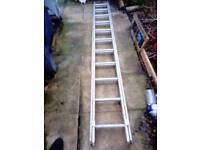 extension 2 section ladder 2 x 2.7 m