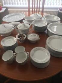 Vintage Noritake Romance Bone China Dinner & Tea Service