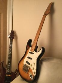 Hohner Professional ST lead, 1986 Stratocaster.