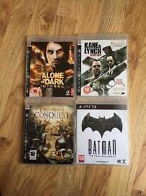 4 x PS3 games