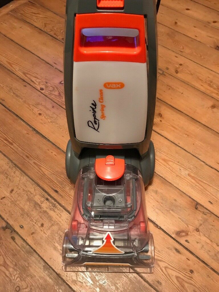 New and unused Vax Rapide Spring Clean Carpet Washer Cleaner W91-RS-B-A 700w Grey/Orange