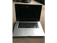 Macbook Pro laptop. 15 inch; mid 2010 4GB 1067 MHz DDR3, Intel Core i5. Perfect working condition.