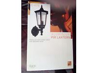 Outdoor PIR Aluminium Lantern - E478 - New In Box