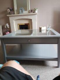 Grey ikea coffee table