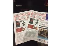 Kasabian - motorpoint arena Cardiff 04/12/17 2 standing tickets