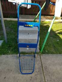 IKEA 30KG WEIGHT CAPACITY HAND CART WHEEL TROLLEY