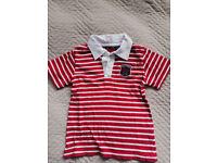 Tommy Hilfiger & Oshkosh polo, Redskin t-shirt, Animal hoodie