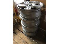 """18"""" Mini Cooper S 17 inch alloy wheels x 4 alloys"""