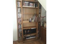 IKEA Billy Bookcase and DVD storage