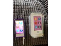 iPod nano 7th gen purple 16gb