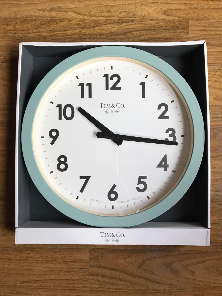 Brand New Timco By Acctim Large Wall Clock In Kingswood Bristol