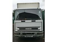 7.5ton Box Van IVECO with Tail Lift