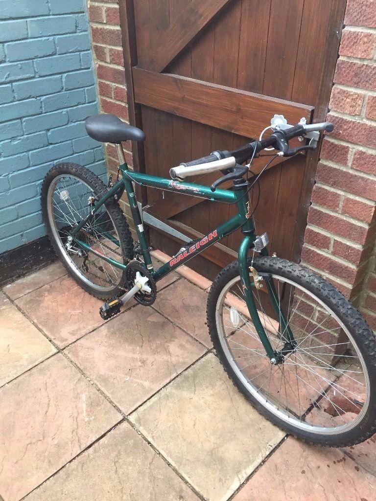 Raleigh men's bicycle 15 speed gear good working £30