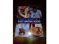 James Martin's Easy British Food Recipe Book (Paperback) - Like New