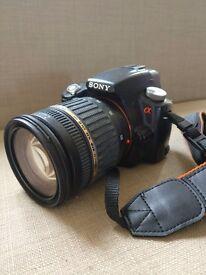 Sony Alpha a55 & Tamron 17-50mm f/2.8