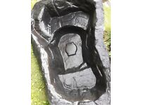 Black pre-formed pond liner