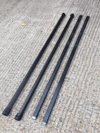 4 x Thule roof bars (120cm length)