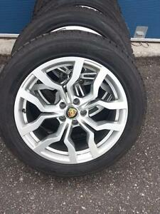 BRAND NEW PORSCHE MACAN 2016 HIGH PERFORMANCE WINTER TIRES ON 19 INCH  ALLOY RIMS