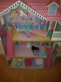 ELC dolls house and scooter