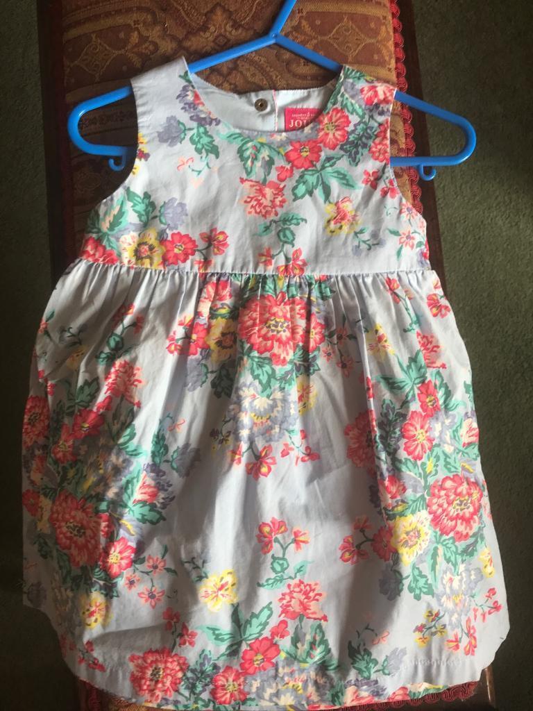 Joules girls dress
