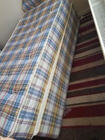 CHEAP SINGLE BED WITH MATTRESS